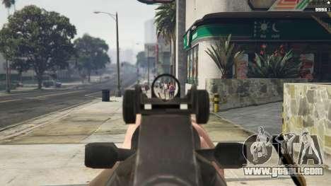 GTA 5 Bioshock Infinite - Carbine Rifle fifth screenshot