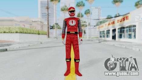 Power Rangers Ninja Storm - Red for GTA San Andreas second screenshot