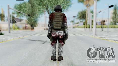 Black Mesa - Wounded HECU Marine Medic v2 for GTA San Andreas third screenshot