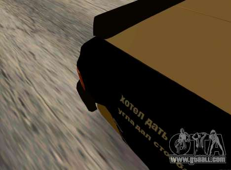 Volga 3110 Classic Battle for GTA San Andreas back left view