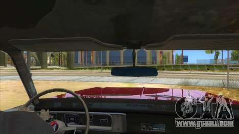 1965 Plymouth Belvedere 2-door Sedan for GTA San Andreas inner view