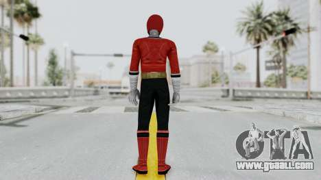 Power Rangers Samurai - Red for GTA San Andreas third screenshot