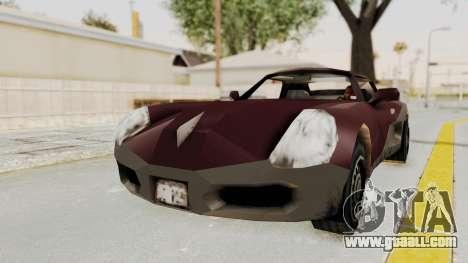 GTA 3 Yakuza Stinger for GTA San Andreas back left view