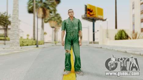 Manhunt 2 - Danny Prison Outfit for GTA San Andreas second screenshot
