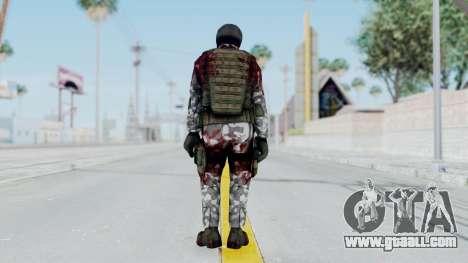 Black Mesa - Wounded HECU Marine v3 for GTA San Andreas third screenshot