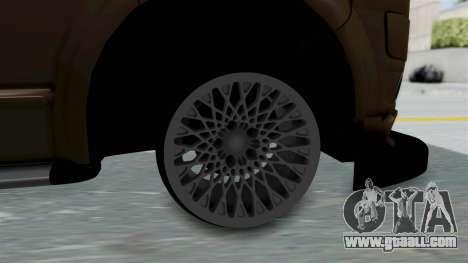 Volkswagen Transporter TDI Final for GTA San Andreas back left view