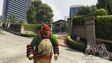 Teenage mutant ninja turtles for GTA 5