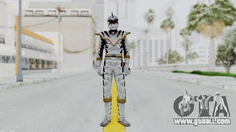 Power Rangers Dino Thunder - White for GTA San Andreas second screenshot