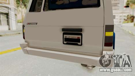 Toyota Kijang Miku Itasha Version for GTA San Andreas interior