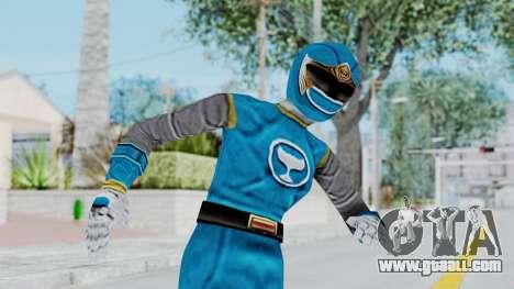 Power Rangers Ninja Storm - Blue for GTA San Andreas