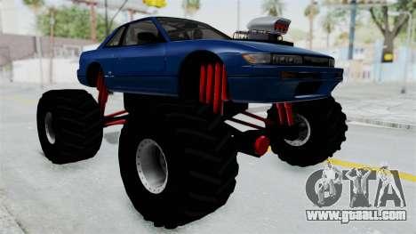 Nissan Silvia S13 Monster Truck for GTA San Andreas