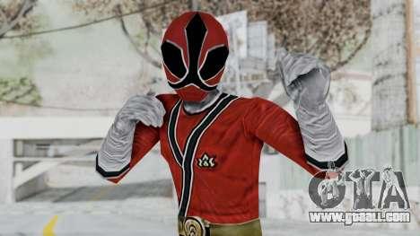 Power Rangers Samurai - Red for GTA San Andreas
