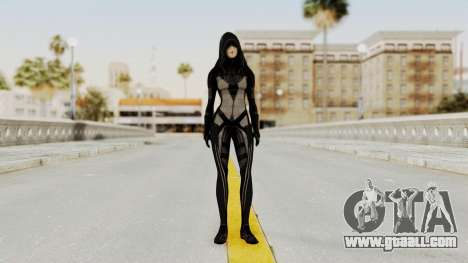 Mass Effect 2 Kasumi Black for GTA San Andreas second screenshot
