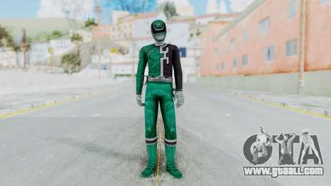 Power Rangers RPM - Green for GTA San Andreas second screenshot