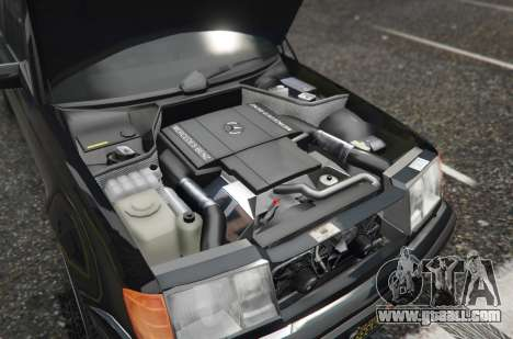 GTA 5 Mercedes-Benz E500 rear right side view