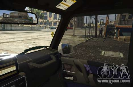 GTA 5 2013 Mercedes Benz G65 AMG [Replace] rear right side view