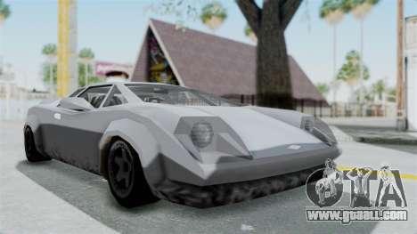 GTA Vice City - Infernus for GTA San Andreas right view