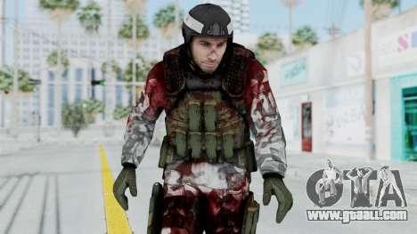 Black Mesa - Wounded HECU Marine Medic v1 for GTA San Andreas
