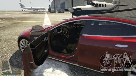 Tesla Model S for GTA 5