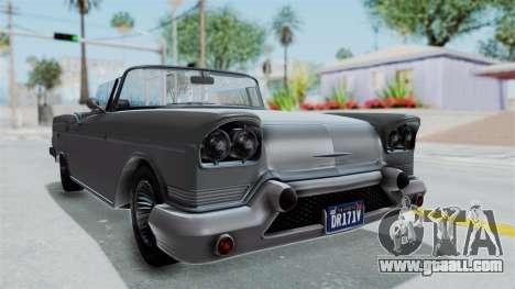GTA 5 Declasse Tornado No Bobbles and Plaque IVF for GTA San Andreas
