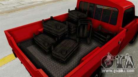 Zastava 850 Pickup for GTA San Andreas back view