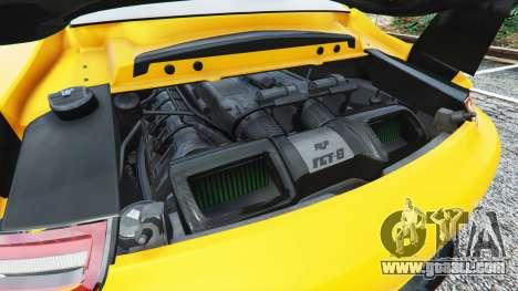 GTA 5 Ruf RGT-8 steering wheel