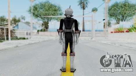 Power Rangers RPM - Silver for GTA San Andreas third screenshot