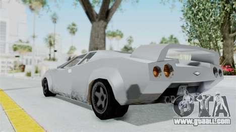 GTA Vice City - Infernus for GTA San Andreas left view