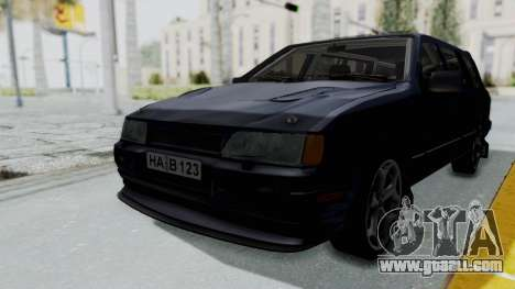Ford Sierra Turnier 4x4 Saphirre Cosworth for GTA San Andreas