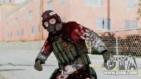Black Mesa - Wounded HECU Marine Medic v2 for GTA San Andreas
