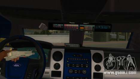 Black Scorpion Police for GTA San Andreas inner view