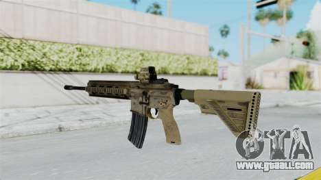 HK416A5 Assault Rifle for GTA San Andreas second screenshot