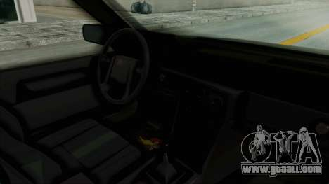 Volvo 740 for GTA San Andreas inner view