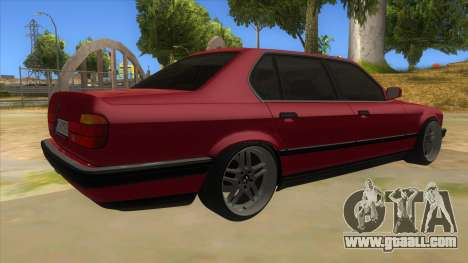BMW E32 for GTA San Andreas right view
