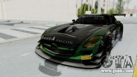 Mercedes-Benz SLS AMG GT3 PJ7 for GTA San Andreas side view