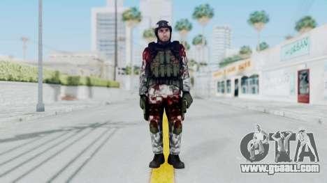 Black Mesa - Wounded HECU Marine Medic v1 for GTA San Andreas second screenshot