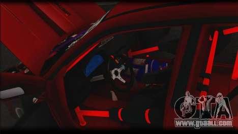 Subaru Impreza STi Drag Racing Unlim 500 for GTA San Andreas upper view