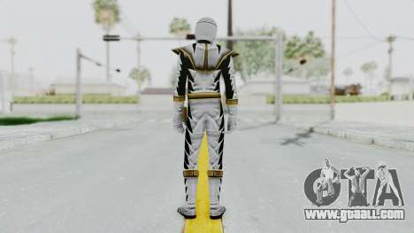 Power Rangers Dino Thunder - White for GTA San Andreas third screenshot