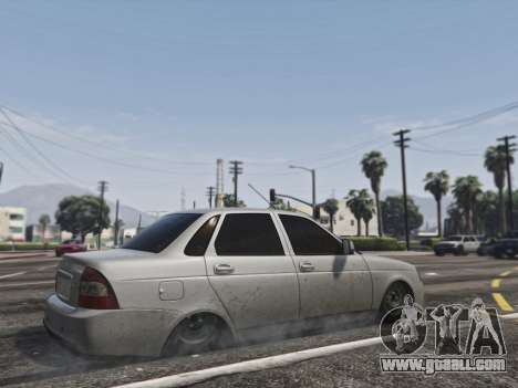 GTA 5 Lada Priora VAZ 2170 right side view