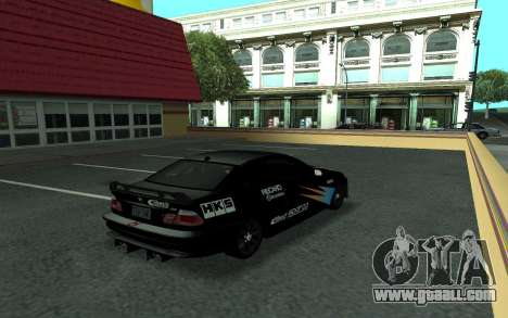 BMW M3 E46 Tunable for GTA San Andreas upper view