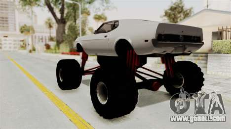 Ford Mustang 1971 Monster Truck for GTA San Andreas left view