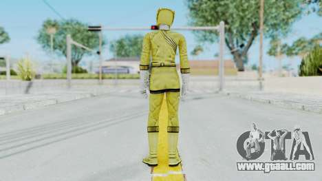 Power Rangers Wild Force - Yellow for GTA San Andreas third screenshot