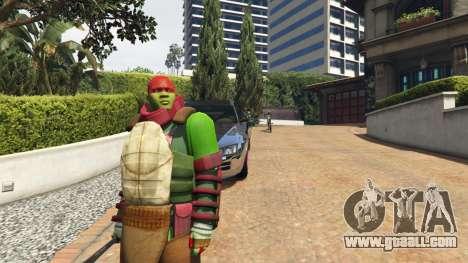 Teenage mutant ninja turtles for GTA 5