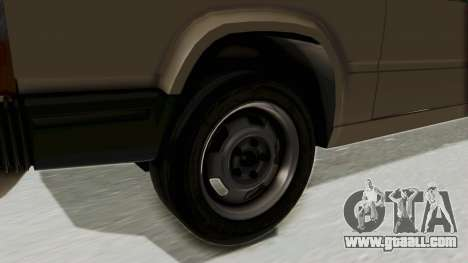 Volvo 740 for GTA San Andreas back view