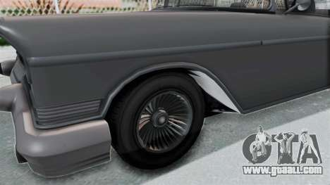 GTA 5 Declasse Tornado No Bobbles and Plaque IVF for GTA San Andreas back view