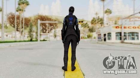 Mass Effect 3 Liara DLC Alt Costume for GTA San Andreas third screenshot