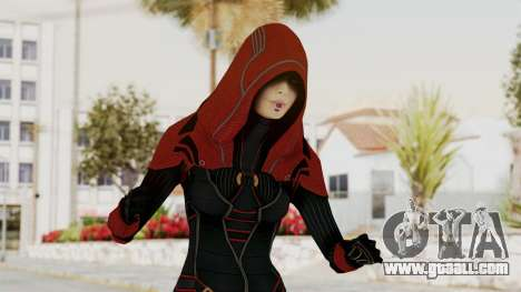 Mass Effect 2 Kasumi Red for GTA San Andreas