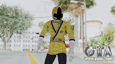 Power Rangers Samurai - Yellow for GTA San Andreas