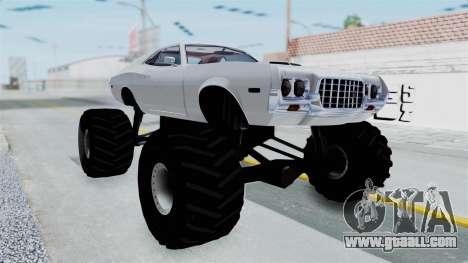 Ford Gran Torino 1972 Monster Truck for GTA San Andreas