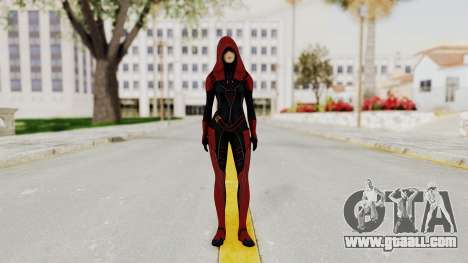 Mass Effect 2 Kasumi Red for GTA San Andreas second screenshot